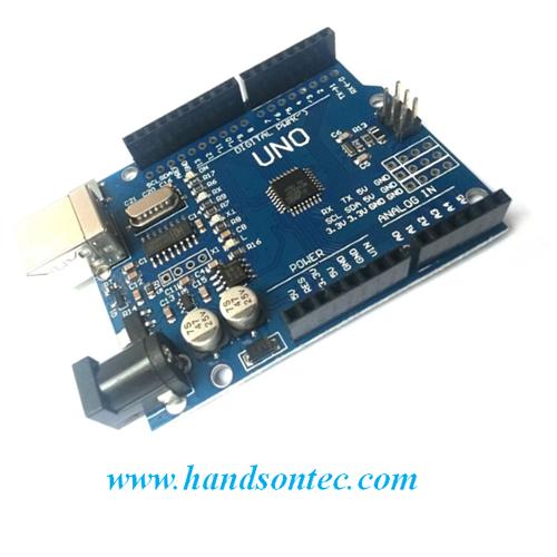 Arduino uno r compatible controller board handson tech