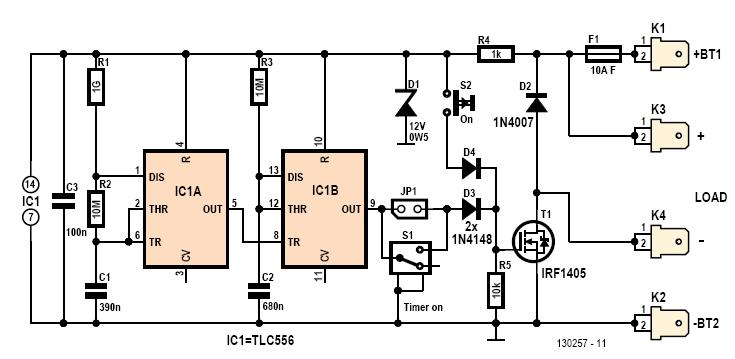 zero electrolytic timer-1