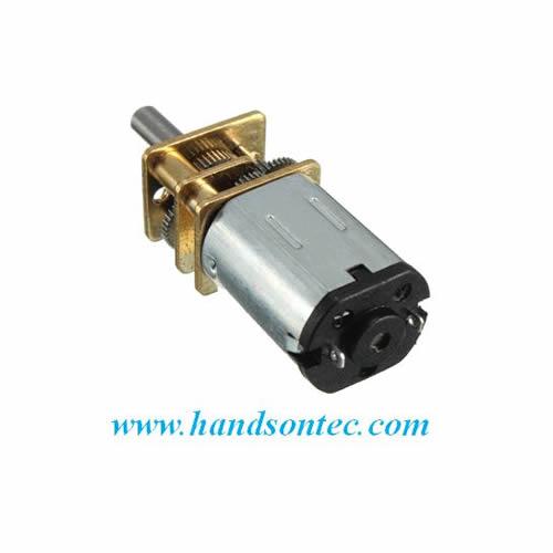 Ga12 n20 geared mini dc motor handson tech for Mini gear motor dc