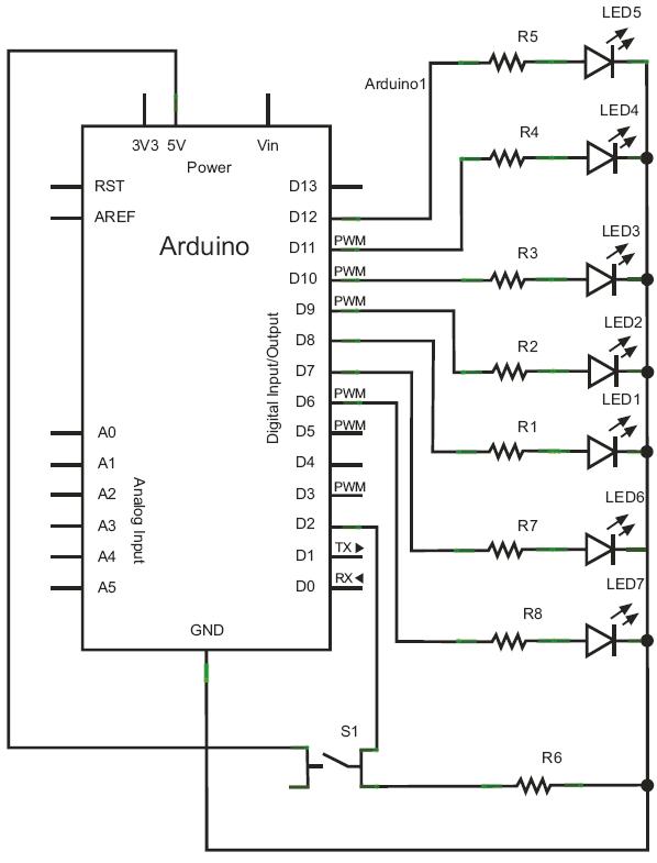 Arduino – 2 – Digital I/O – HandsOn Tech
