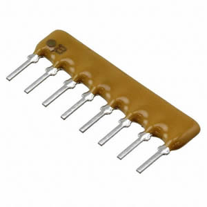 CAT16-2201F4LF Pack of 100 Resistor Networks amp; Arrays 2.2K 1/% Concave 4resistors
