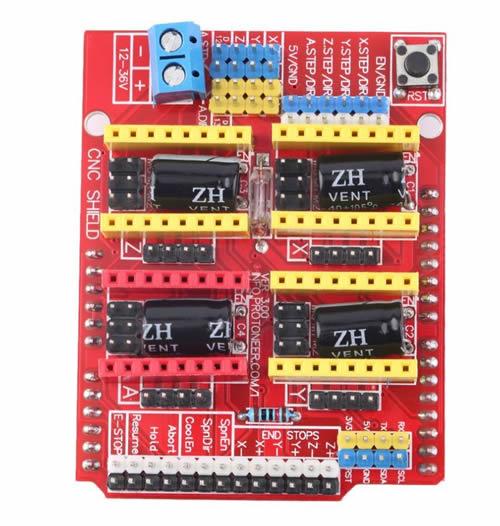 Cnc 3 Axis Stepper Motor Shield V3 For Arduino