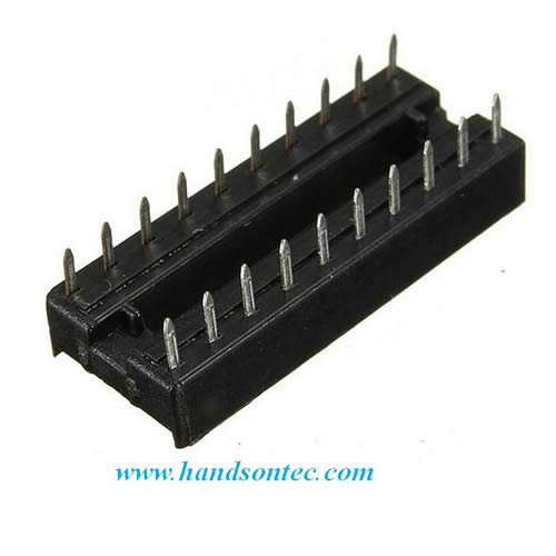Dip Ic Socket on Pc Fan Sd Controller Circuit