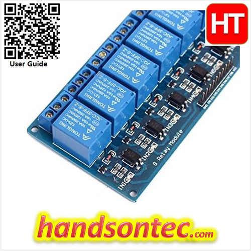 8-Channel Relay Module for Arduino5 V