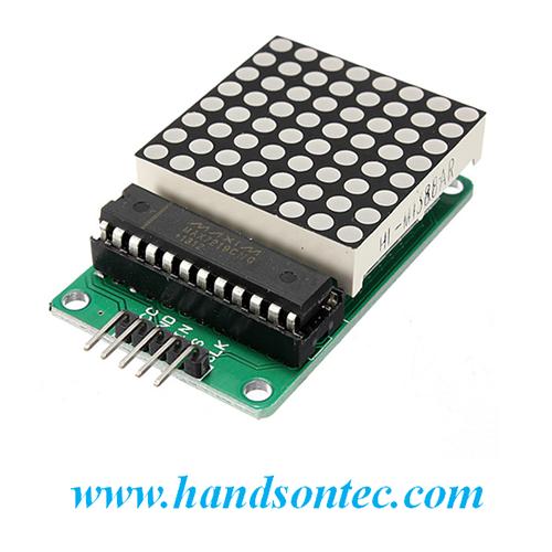 MAX7219 8x8 Dot Matrix Display Module